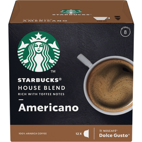 STARBUCKS MEDIUM HOUSE BLEND KAPSLE 12KS